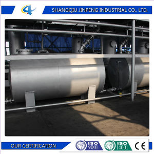 Green Technology Continuous Used Plastic Pyrolysis Plant pictures & photos