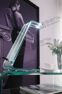 Clear Glass Table 3 W LED Lamp with Touch Switch pictures & photos
