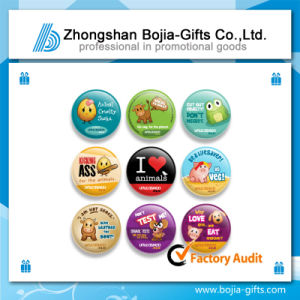 Promotion Gifts Tinplate Lapel Pin Badge with Customized Logo (BG-BA313)