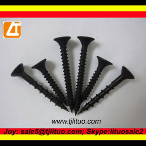 Black Phosphated Bugle Head Drywall Screws 3.5*25mm pictures & photos