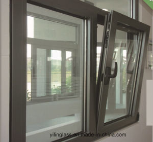 Double Glazed Aluminum Titl and Turn Windows pictures & photos