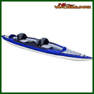 Unique Design Inflatable Double Kayak, Fishing Kayak pictures & photos