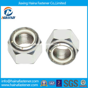 Stainless Steel Hex Nylon Insert Lock Nut DIN985 DIN982 ISO7040 pictures & photos