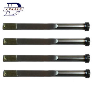 Nitrided & Blackened DIN1530f-B Was1.2344   Blade Ejector Pin  of Mould Parts for Plastic Injection pictures & photos