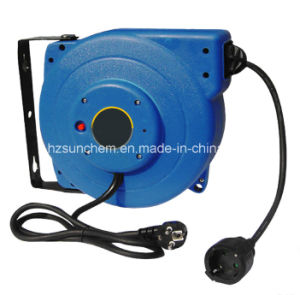 15m Retractable Extension Cable Reel CE and RoHS Approval