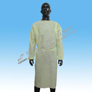 Elastic Cuffs/Knitted Cuff Hot Sale SBPP/PE/PP+PE/SMS Isolation Gown/Surgical Gown pictures & photos