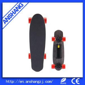 Dual Hub Motor 4 Wheels Electric Skateboard with Remote Control Hoverboard Electric Skateboard pictures & photos