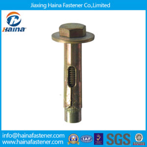 Color Zinc Carbon Steel Wedge Anchor Bolt pictures & photos