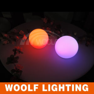 RGB LED Full Color Rotating Ball Lamp 220V pictures & photos