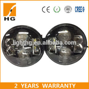 7′′ Headlight with High/ Low Beam Jeep Headlamp Hg-838A pictures & photos