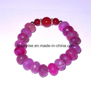 Natural Man Women Gemstone Crystal Beaded Carnelian Charming Chakra Jewelry Bracelet Bangle pictures & photos