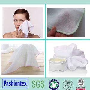 Customized Wholesale Muslin Fabric Custom Printed Face Cloth Facial Cleansing Cloths pictures & photos