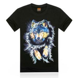 Fashion 3D Printed Men T-Shirt (ZT020) pictures & photos