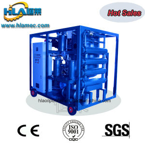 Vacuum Washable Mobile Waste Compressor Oil Filtration Machine pictures & photos