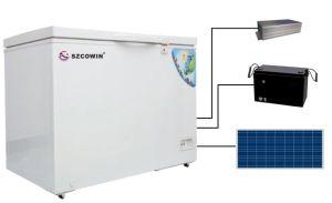 Commercial Solar Freezer Refrigerator Fridge 282L pictures & photos