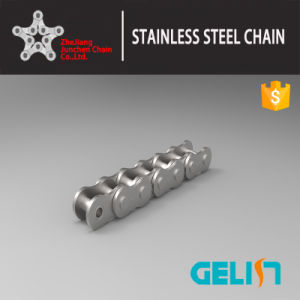 Conveyor Chain Roller Chains with Attachment 304 Stainless Steel Chain Bush Chain Wholesale China Factory pictures & photos