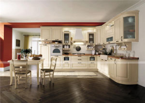 Modular Mini Home Kitchen Furniture / Luxurious American Style Kitchen Cabinet pictures & photos