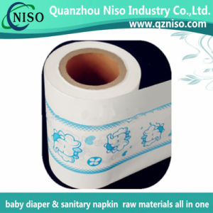 Baby Diaper Raw Materials Laminated PE Film Nonwoven for Diaper Backsheet pictures & photos