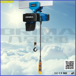 Brima Hot Sales 500kg BMS European Electric Chain Hoist pictures & photos