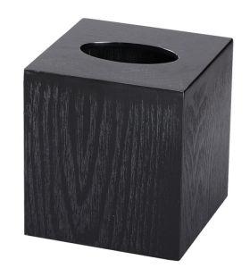 Hotel Black New Design Square Tissue Box pictures & photos