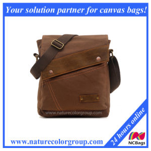 Vintage Small Canvas Messenger Bag ,Shoulder Bag for iPad ,Bags for Men & Women (MSB-009) pictures & photos