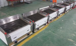 Stainles Steel Electric Countertop BBQ Griddle Machine for Commercial Use (HEG-62) pictures & photos