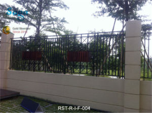 Decorative Iron Fence Saga Fence