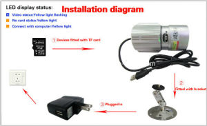 Waterproof High Resolution Night Vision Memory Card CCTV Camera pictures & photos
