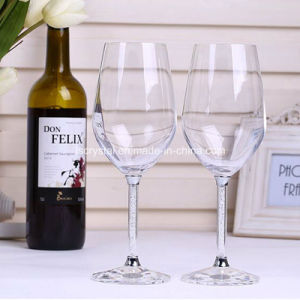 Crystal Red Wine Glasses Wedding Toasting Flutes Personalized Glassware Crystal Wine Cup pictures & photos