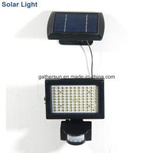 Super Bright Solar Powered Sensor Light with Ce and RoHS Certificate