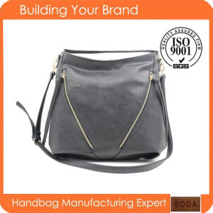 New China Manufacturer Women Leather Handbag (BDM206) pictures & photos