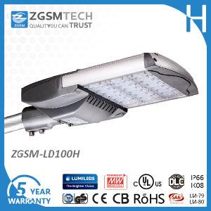 UL Dlc 100W LED Shoe Box Light for Parking Lot pictures & photos