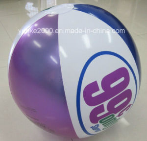 Customised Printed Logo PVC Beach Ball (CB-1008)