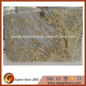 Natural Tiger Yellow Granite Stone Slab pictures & photos