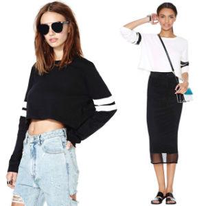 Fashion OEM Crop Sweater Top Women (ELTSTJ-732) pictures & photos