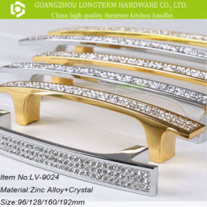 European Style Luxurious Crystal Handle for Kitchen Furniture pictures & photos