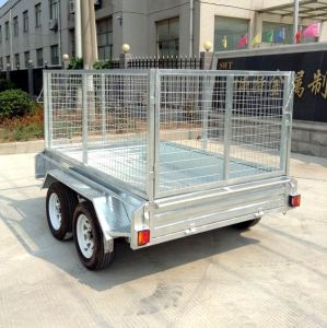 Heavy Duty Tandem Axle Utility Trailer Plans (SWT-TT85) pictures & photos