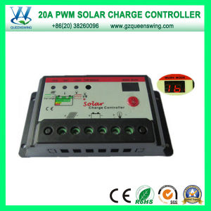 12V/24V 20A PWM Solar Charge Controller (QWP-1420T) pictures & photos