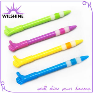 Plastic Thumb Finger Novelty Pen for Promotion (DP0519) pictures & photos