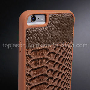Fish-Scale Pattern Genuine Leather Case for iPhone 6/6s pictures & photos