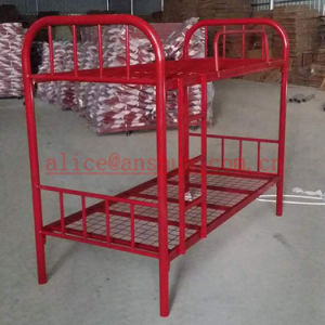 Jas-086 Cheapest Economical Durable Strong Metal Frame Bunk Bed pictures & photos