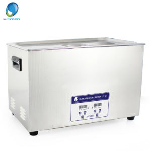 30L Digital Ultrasonic Cleaner with Industrial Transducer for Valve Cleaning / Electroplating pictures & photos
