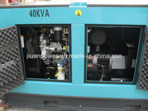 40kVA 3 Phase Small Silent Diesel Generator with Perkins Engine pictures & photos
