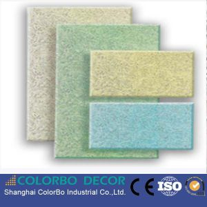 Home Decoration Wood Wool Acoustic Panel pictures & photos