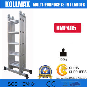 Multi-Times Fold Telescope Single Ladder with Stabilize Bar Kmp405 pictures & photos