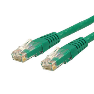 UTP CAT6 Stranded Copper 24AWG Ethernet Patch Cord Cable Orange pictures & photos