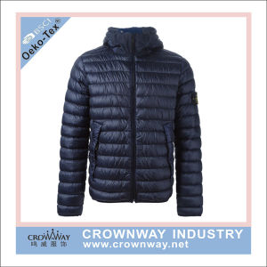 Mens Warm Casual Winter Padded Lightweight Fake Down Jacket for Sale pictures & photos