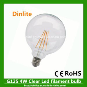 High Quality Big G125 4W Clear LED Light Bulb pictures & photos