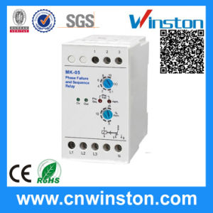Phase Faliure and Sequence DIN Rail Mounting Relay with CE pictures & photos