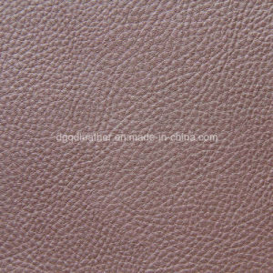 Real Leather Hand Feeling for PU Leather (QDL-53154) pictures & photos